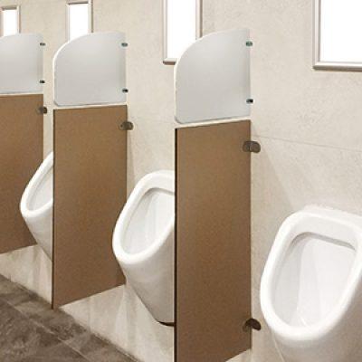 urinals short barrier